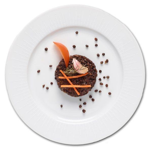 Lentilles noires Beluga aux oignons rouges - 115001