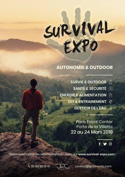 LE BON BAG AU SALON DU SURVIVALISME 2019